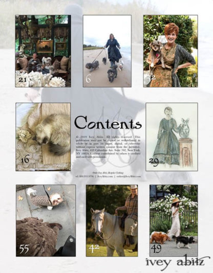 Authentic Everyday Ivey Abitz Journal Volume 2 table of contents