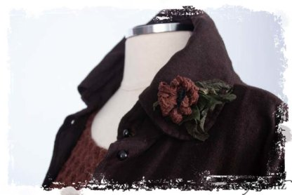 Limited Edition Floravinea Brooch