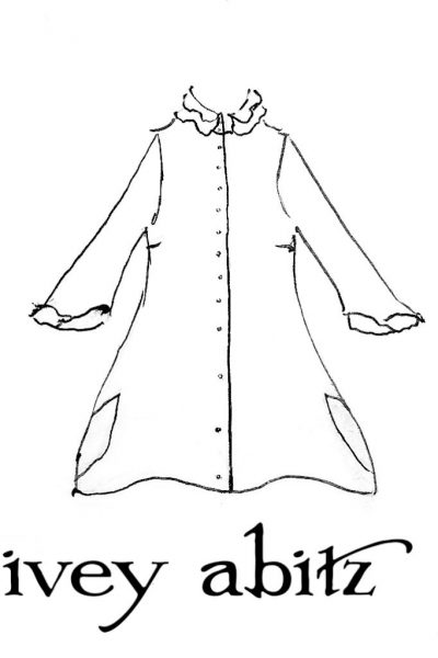 Inglenook Shirt Jacket drawing by Ivey Abitz