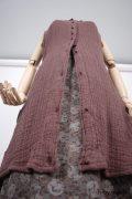 Inglenook Vest - a bespoke design shown in a look by Ivey Abitz