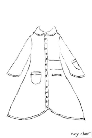 Montague Jacket drawing by Ivey Abitz