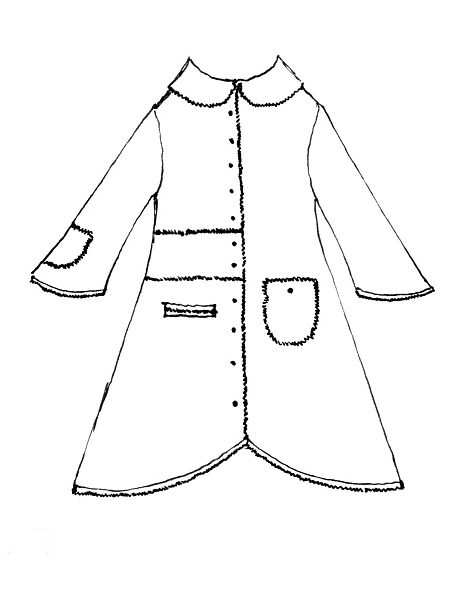 Sollie Jacket drawing by Ivey Abitz