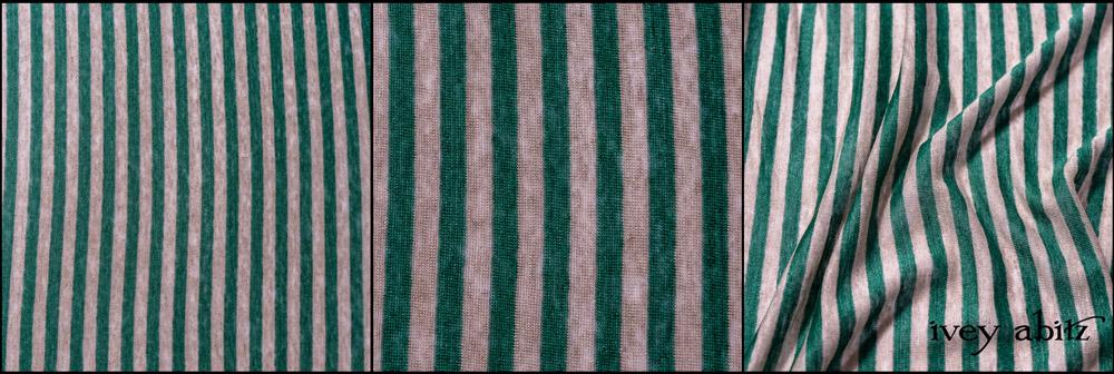 Kale Striped Linen Knit