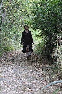 Karen from Michigan wears her bespoke Ivey Abitz.