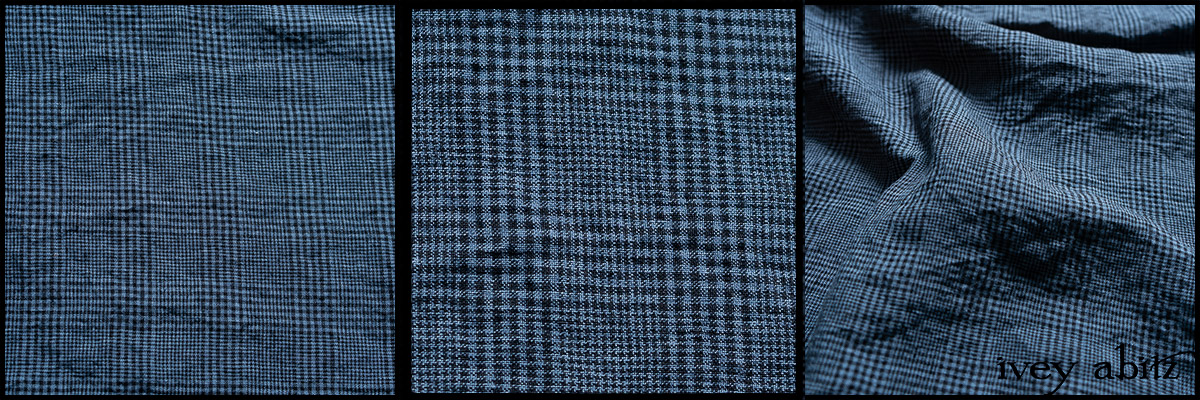Lake Trail Washed Plaid Linen