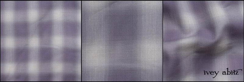 Lavender Wispy Plaid