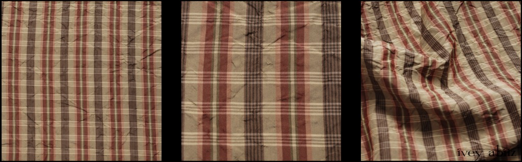 Lawn Washed Plaid Silk