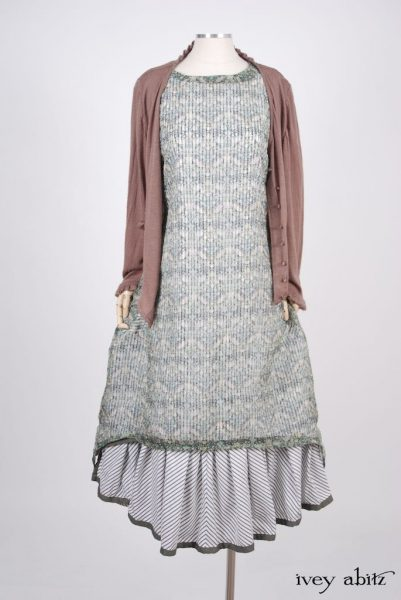 Limited Edition Striped Blanchefleur Frock in a look by Ivey Abitz
