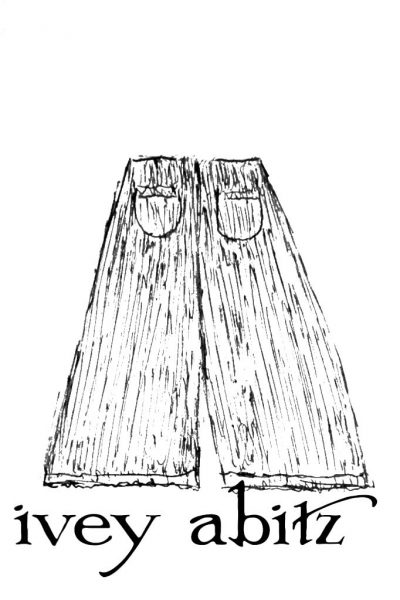 Limited Edition Traipse Trousers drawing by Ivey Abitz