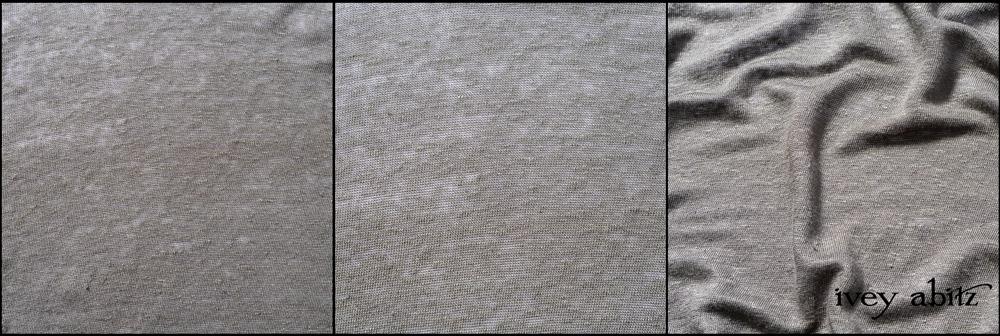 Leafy Lightweight Linen Knit