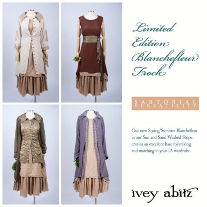 Limited Edition Blanchefleur Frock by Ivey Abitz is a solid base layer.