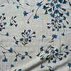 Description: Delightfully printed, washed, and softened, meet our new Liberty Forget-Me-Not Weave. We appreciate its symbolism; may we never forget the importance of liberty for all humans. Opaque with an especially soft and freeing drape. This has been set aside for everyday shirts, frocks, sashes, and lining for our coats created in Unity Textured Wool Knit.Content: 100 percent washed viscose (created from renewable soft wood). Four season weave.Care: Simply hand wash or put through machine delicate cycle in cold water with a plant based detergent. We suggest using a natural fabric softener to maintain the softness we have washed into it. Tumble dry on extra-low heat with our artisan wool dryer balls to keep the relaxed effect that is featured in the Look Book.
