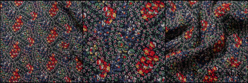 Midsummer Floral Silk Chiffon