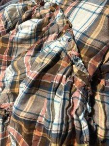 Evie Frock in Rising Sun Wispy Plaid Weave    by Ivey Abitz