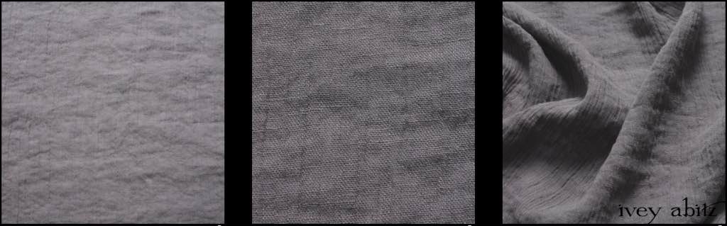 Misty Fog Gauzy Linen by Ivey Abitz