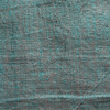 Description: Our yarn dyed linens are some of our all-time favourites. They have two hues cross-woven together to give you a delightfully ambiguous hue. This one has a mix of a cheerful medium green mixed with our Beacon hue. Thicker than a handkerchief weight and ideal for year round wear in any climate. Content: 100 percent washed and softened wool. Four season weave. Care: Simply hand wash or put through machine delicate cycle in cold water with a plant based detergent. We suggest using a natural fabric softener to maintain the softness we have washed into it. Tumble dry on extra-low heat with our artisan wool dryer balls to keep the relaxed effect that is featured in the Look Book.
