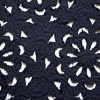 Description: Weavers are truly magical. This is an embossed knit, which on its own is amazing. But wait! There is more. So much more. The fabric has been laser cut to create an open weave. This allows you to wear it over base layering frocks and garments and have contrasting fabrics or same tone fabrics, show through the cutouts. We have put it through several special washings to pre-wash and soften the knit. It has been set aside for our layering frocks and a selection of our cardigans and shorter jackets. Content: A blend cotton and viscose Four season weave. Care: Simply hand wash or put through machine delicate cycle in cold water with a plant based detergent. We suggest using a natural fabric softener to maintain the softness we have washed into it. Tumble dry on extra-low heat with our artisan wool dryer balls, just for a few minutes, to keep the relaxed effect that is featured in the Look Book.