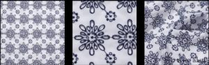 Onward Blue and White Eyelet by Ivey Abitz
