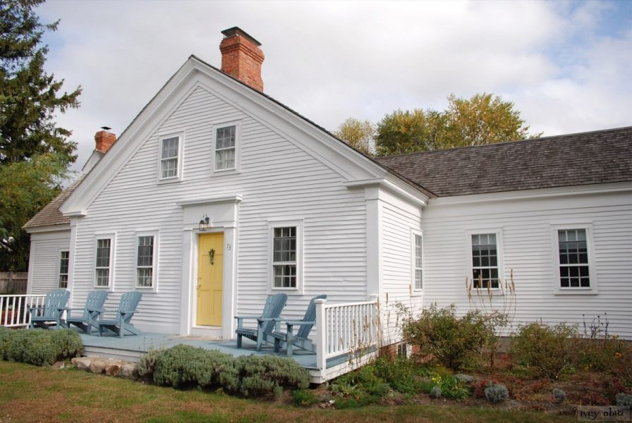 Built in 1820 by a sea captain, and just a short walk from the Atlantic Ocean, Saturday Farm is brimming with stories, many told in its wide planked floors and horsehair plaster walls.