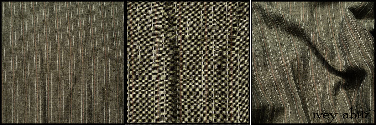 Peace and Civility Stripe Linen - Collection 64