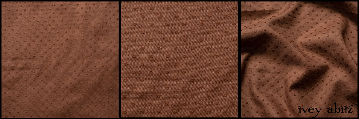 Peace Tufted Dot Voile - Collection 64
