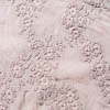Description: Every now and again, we feature a fabric that is subtle and stunning simultaneously. This is admittedly one of the more special weaves we have featured in quite some time. The Peach hue is muted, leaning toward an antique light rose, but not quite. The embroidered design seems to float effortlessly across the voile base. Its mix of raised, soft texture atop the soft, flat voile soothes and delights. What makes this fabric even more special is that it is reversible. The Peach Embroidered Weave is more polished on one side. On the reverse side, it features our Peach Frayed Weave. We like mixing them together with a jacket in the embroidered weave and a frock in the frayed weave. Or vice versa. Either side is delightful.Content: 100 percent cotton. Care: Simply hand wash or put through machine delicate cycle in cold water with a plant based detergent. We suggest using a natural fabric softener to maintain the softness we have washed into it. Tumble dry on extra-low heat with our artisan wool dryer balls just for a few minutes to keep the relaxed effect featured in the Look Book.