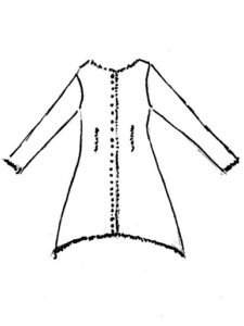 Pineyrie Shirt Jacket drawing