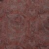 Royal Washed Brocade - Description: Yarn dyed resplendence, this cotton brocade is royal in every way. We put it through several special washings to soften the brocade and accentuate the texture in the weave. A wonderful mix and variations of our Brick, Red Door, and Lawn hues. The backside is just as lovely with a brighter Red Door hued motif on it. Your jacket and/or vest will delight you, inside and out. The brocade is right at home in our new Spring 2018 Welcome Home Collection. Due to the thickness of the weave, this brocade is only available in our jackets and vests.