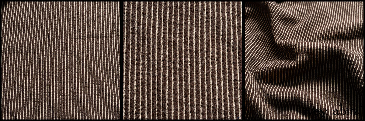 Saddle Embroidered Stripe Wool