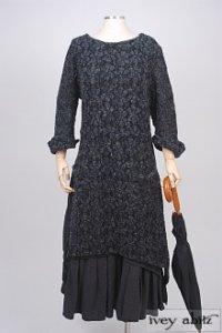Dennison Dress in Dusk Wool Lace Knit – Size Small/Medium 6
