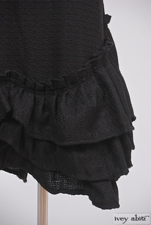 Anabel Frock in Inkwell Lightweight Boucle - Size Medium