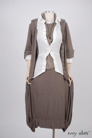 Truitt Jacket in Flaxseed Featherlight Weave – Size Small/Medium 1