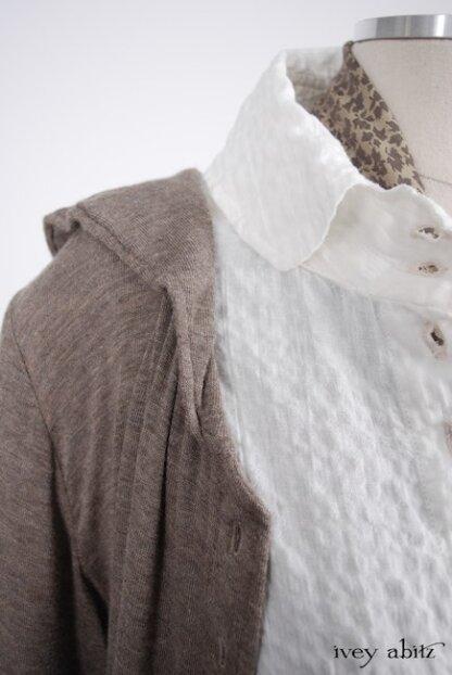 Truitt Jacket in Flaxseed Featherlight Weave - Size Small/Medium