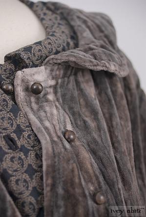 Arthur Hill Jacket in Limited Edition Crinkled Cotton Velvet - Size Medium Large