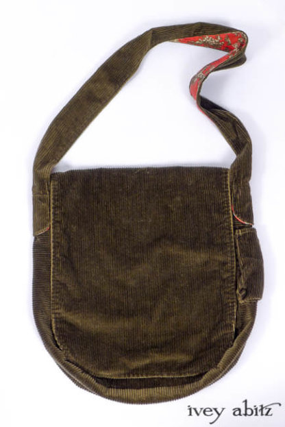 IA101 Solomon Bag in Arthurian Green Cotton Cord