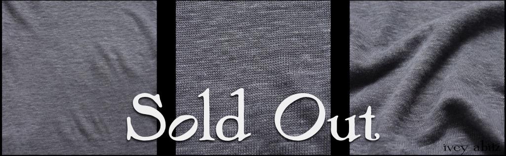 Veranda Blue Lightweight Linen Knit